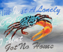 Lonely Crab
